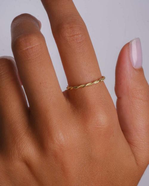 Tressé Ring
