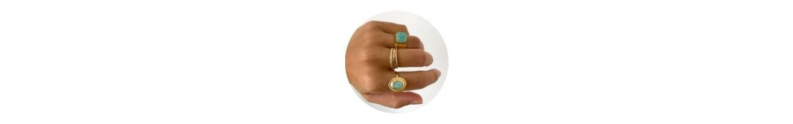 Creu   Natural Stone Ring